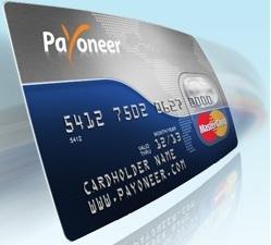 Bono $25 Tarjeta Payoneer Mastercard